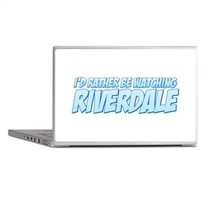 I'd Rather Be Watching Riverdale Laptop Skins